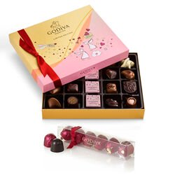 Valentine's Day Chocolate Gift Box & Cherry Cordials