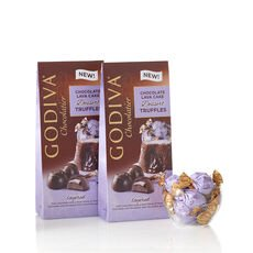 Wrapped Chocolate Lava Cake Dessert Truffles, Large Bags, Set of 2, 19 pc. each