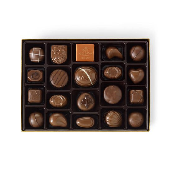 Milk Chocolate Gift Box, 22 pc. image number null