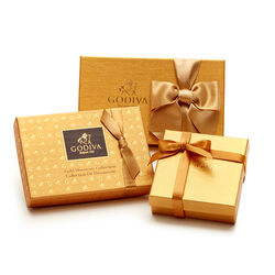 Gold Chocolate Treats Sampler