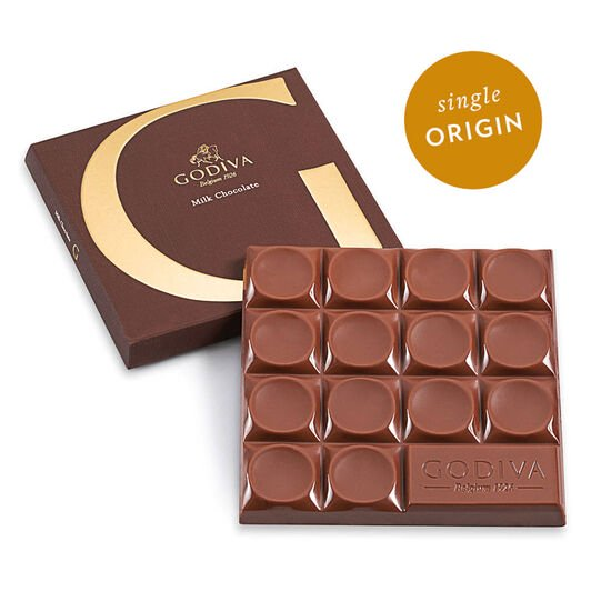 G by Godiva Milk Chocolate Bar, 42% Cocoa, 2.8 oz. image number null