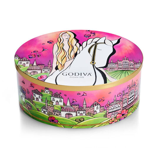 Limited Edition Lady Godiva Tin, 36 pc. image number null
