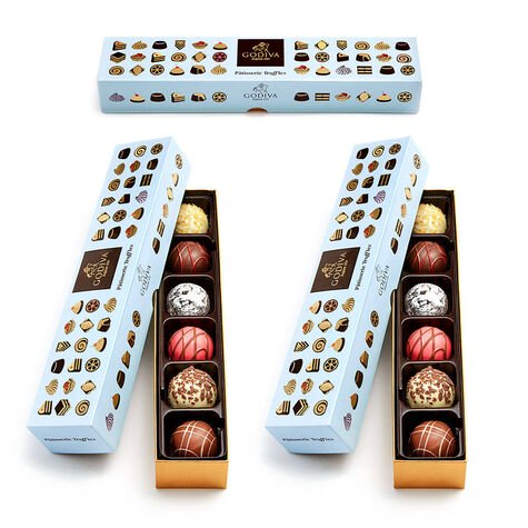 Patisserie Dessert Truffle Flight, Set of 3