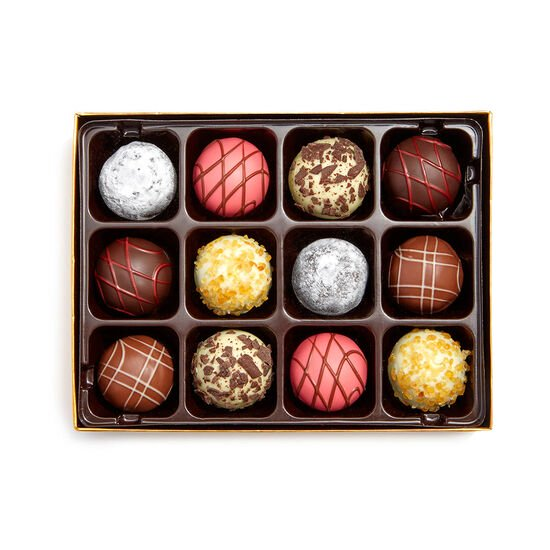 Nothing Heals the Soul Like Chocolate Journal & Dessert Patisserie Truffles Gift Box, 12 pc. image number null
