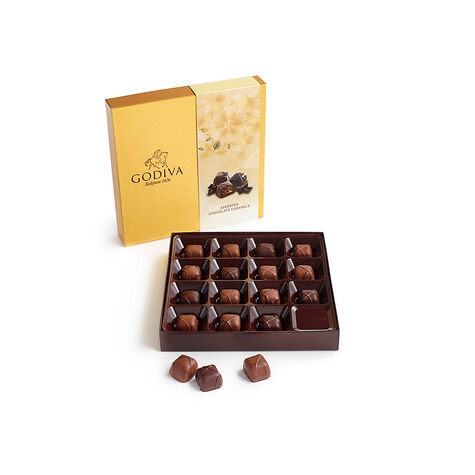 Assorted Caramel Chocolate Gift Box, 15 pc.