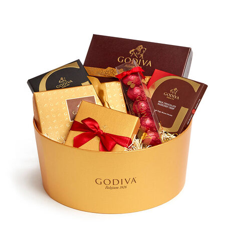 Godiva Holiday Throw with Celebrate the Season Chocolate Gift Box