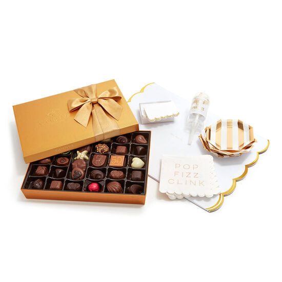 Let's Celebrate Entertaining Set with Gold Gift Box, 36 pc image number null