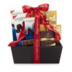 Happy Valentine's Day Chocolate Celebration Basket