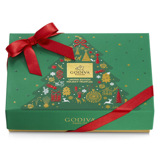 Holiday Truffle Gift Box, 12 pc. image number null