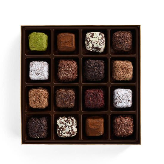 Cube Truffles Gift Box, 16 pc. image number null