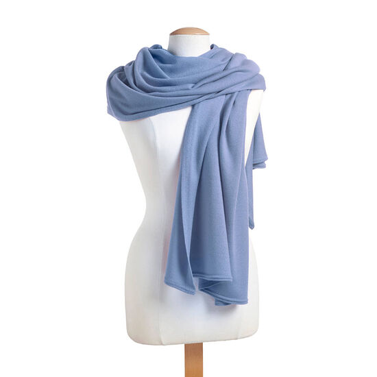 Periwinkle Shawl with Patisserie Dessert Truffles Gift Box, 12 pc. image number null