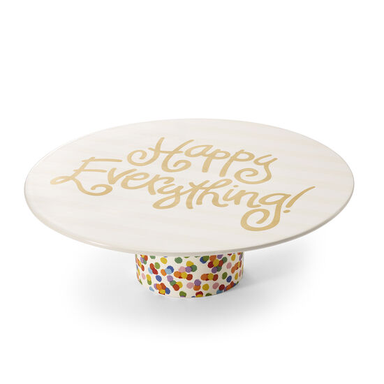 Happy Everything Dessert Pedestal with Assorted Chocolate Gold Gift Box, 19 pc. image number null