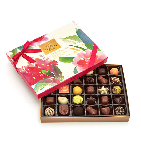 Assorted Chocolate Spring Gift Box, 32 pc. image number null