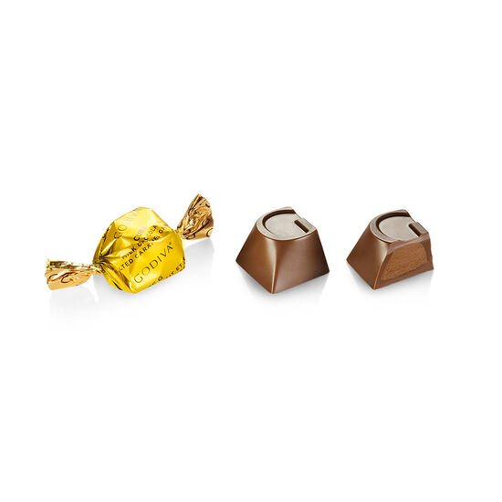 Milk Chocolate Salted Caramel G Cube image number null